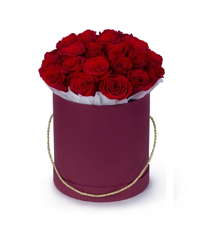 Цветы в шляпной коробке купить минск, цветы