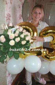 повітряні кульки і квіти Дубно