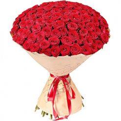 101 красная роза фото товара