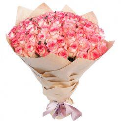 51 роза Джамилия фото букета